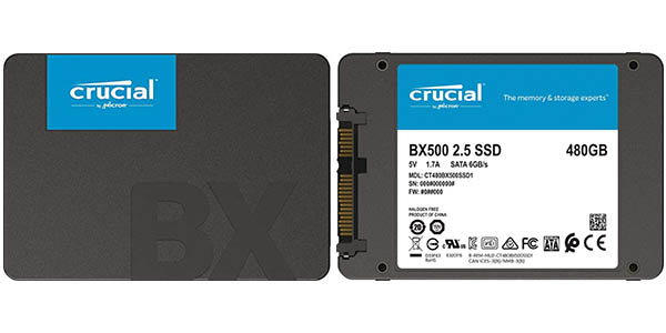 Disco SSD Crucial BX500 barato SuperChollos