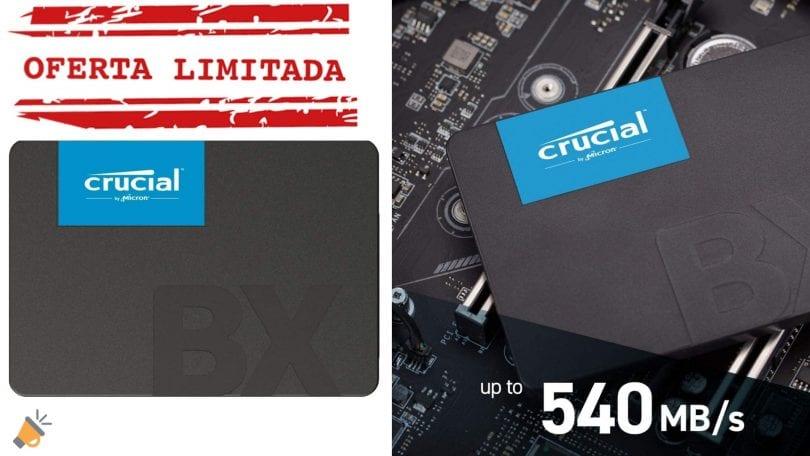 oferta Disco SSD Crucial BX500 barato 1 SuperChollos