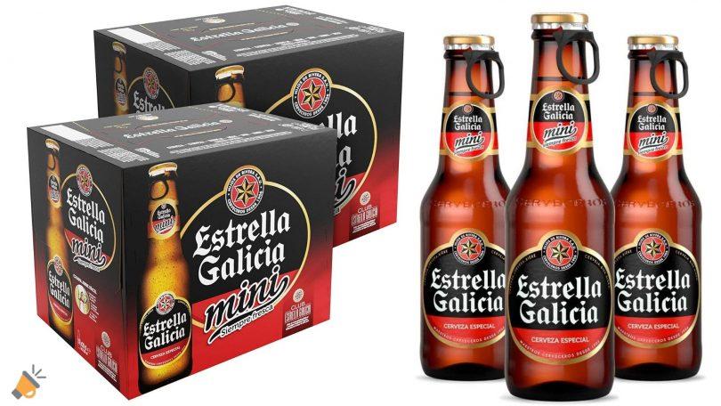 oferta Estrella Galicia mini barata SuperChollos