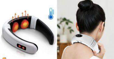 oferta masajeador cuello electrico barato SuperChollos