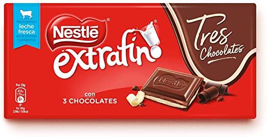 Nestle%CC%81 Chocolate Extrafino 3 Chocolates SuperChollos