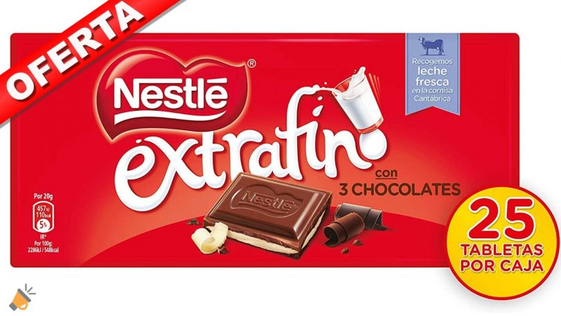 oferta nestle tres chocolates barato SuperChollos