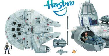 oferta Halco%CC%81n Milenario Star Wars Mission Fleet barato SuperChollos