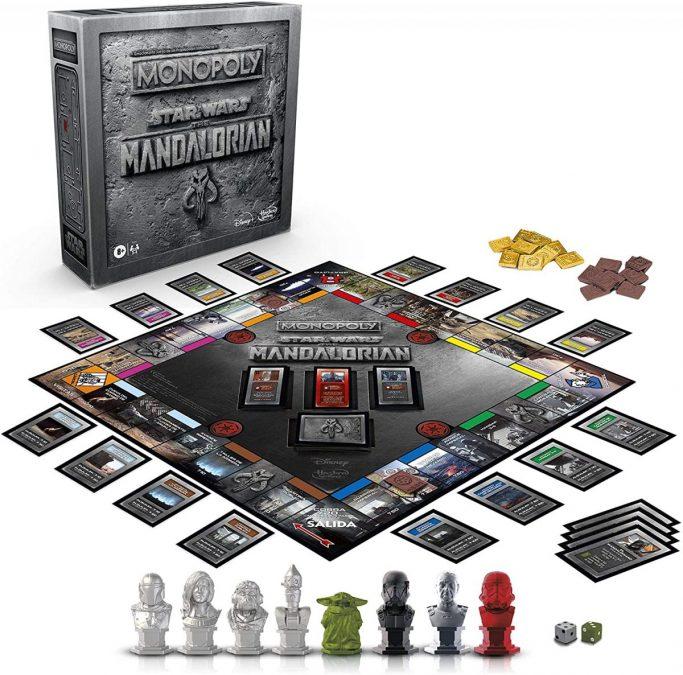 Monopoly Star Wars The Mandalorian barato scaled SuperChollos