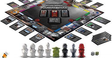 oferta monopoly star wars the mandalorian barato SuperChollos