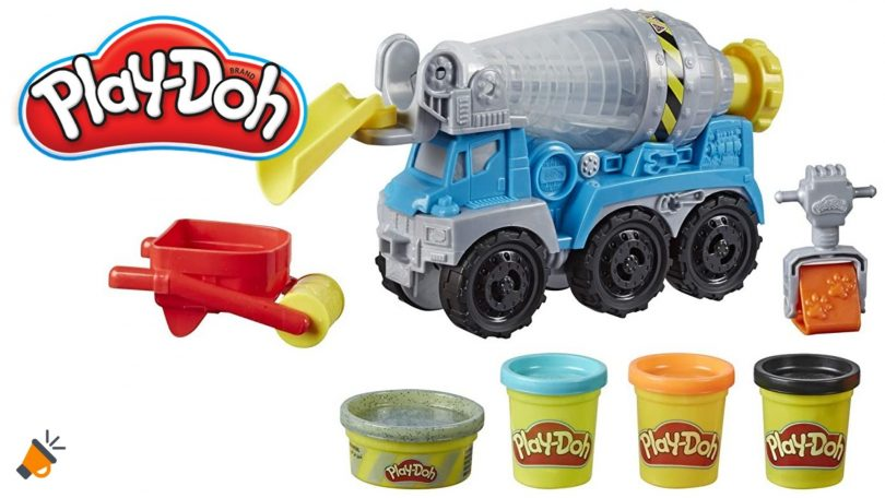 oferta play doh camion cemento barato SuperChollos