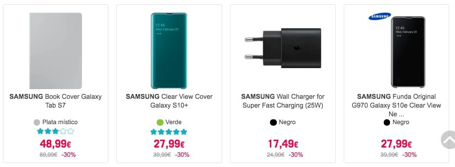 Mejores ofertas Samsung Fest1 SuperChollos