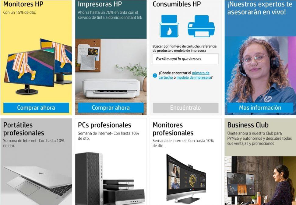 Ofertas destacadas HP Store1 SuperChollos