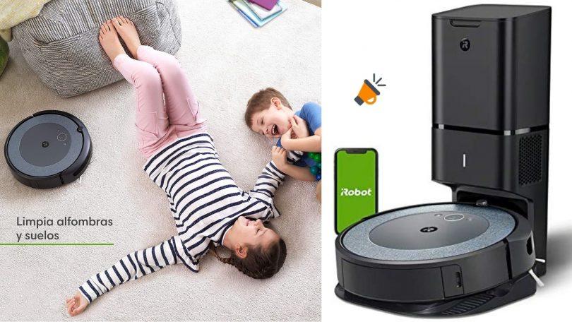 oferta iRobot Roomba i3552 barato SuperChollos