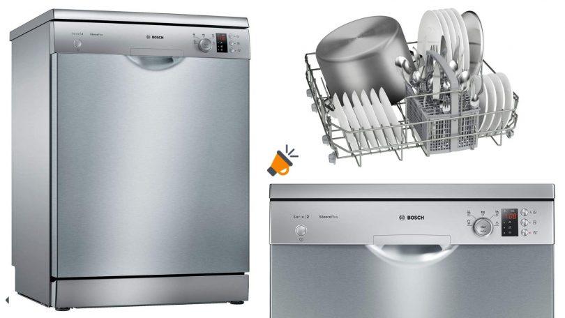 oferta Lavavajillas Bosch SMS25AI05E barato SuperChollos