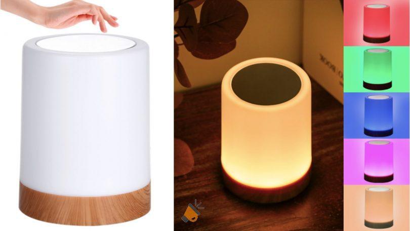 OFERTA lampara led recargable barata SuperChollos