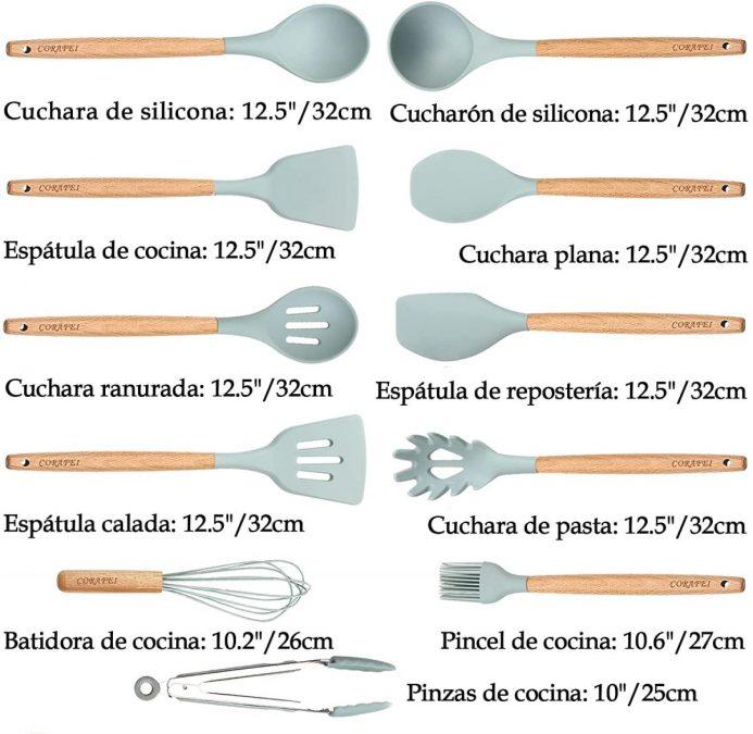 Utensilios de Cocina Corafei baratos scaled SuperChollos