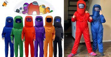 oferta disfraz Among Us barato SuperChollos