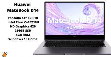 oferta Huawei MateBook D14 barato SuperChollos