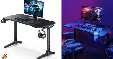 oferta Mesa gaming Aukey Desk barata SuperChollos