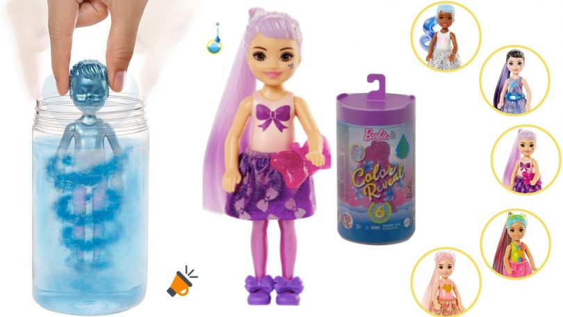 oferta Barbie Chelsea Color Reveal barata SuperChollos