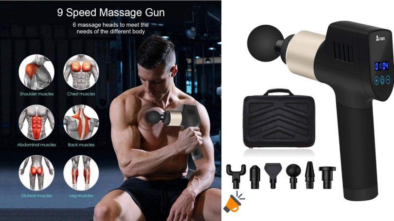oferta pistola masaje 2NLF barata SuperChollos