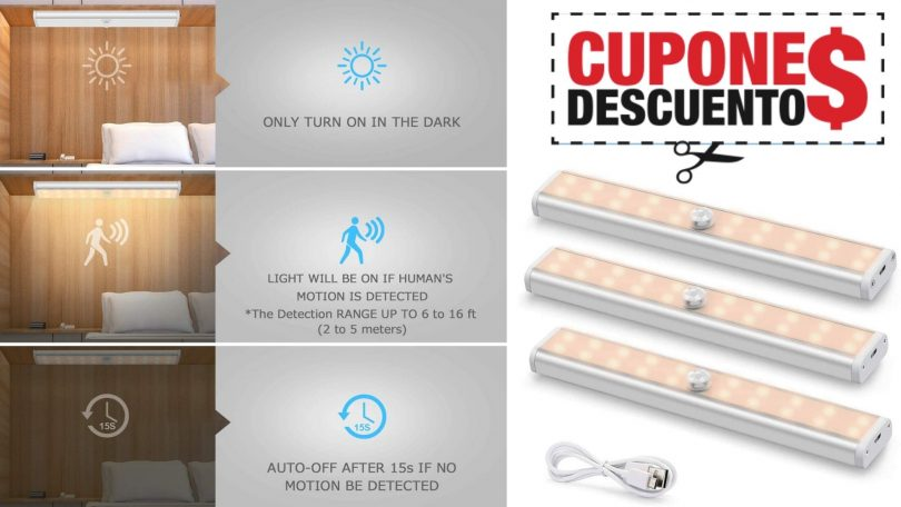 oferta Luces LED Fansteck baratas SuperChollos
