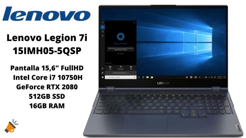 oferta Lenovo Legion 7i 15IMH05 5QSP barato SuperChollos