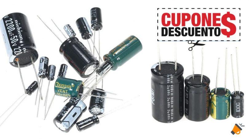 oferta KKmoon Condensadores baratos SuperChollos