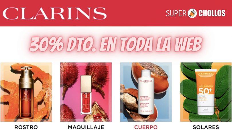 OFERTAS REBAJAS CLARINS SuperChollos