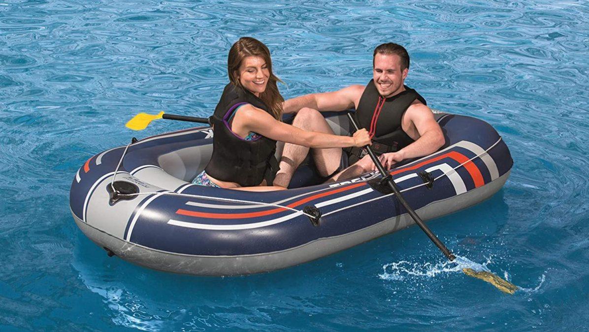 Barca hinchable Bestway barata scaled SuperChollos