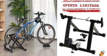 oferta rodillo ciclismo homcom barato SuperChollos