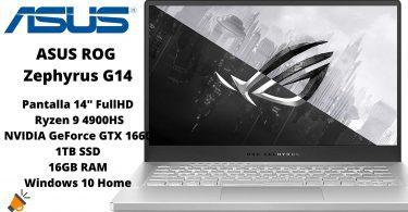 oferta ASUS ROG Zephyrus G14 GA401IU HA123T barato SuperChollos