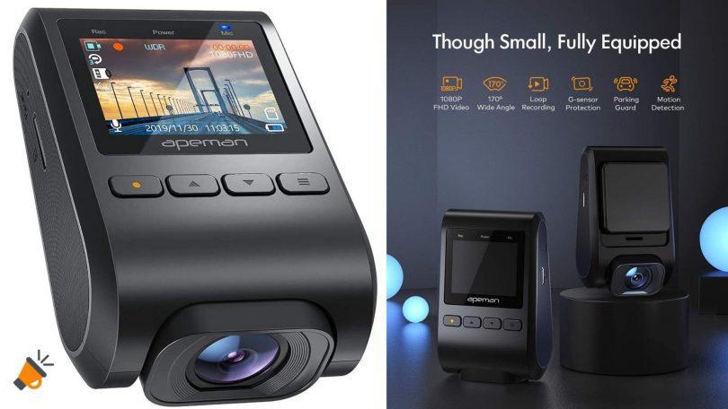 oferta Dashcam APEMAN C370 barata SuperChollos