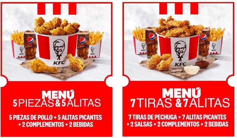 Cubos pollo KFC baratos2 SuperChollos