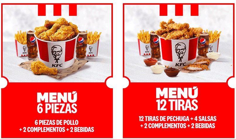 Cubos pollo KFC baratos SuperChollos