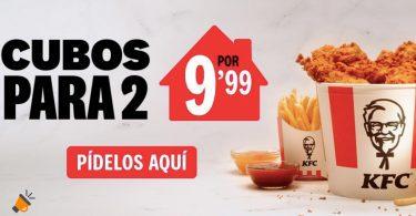 oferta kfc cubos pollo baratos SuperChollos