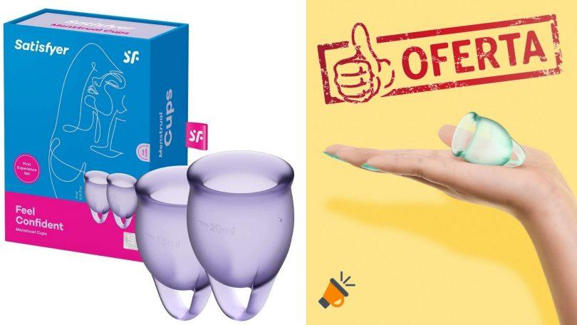 oferta Satisfyer Feel Confident Copa Menstrual barata SuperChollos