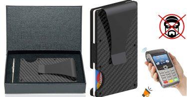oferta Tarjetero RFID FIOZOR barato SuperChollos