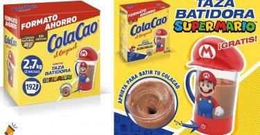 oferta Cola Cao Original super mario barato SuperChollos