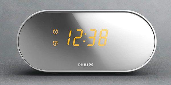 Radiodespertador digital Philips AJ2000 barato SuperChollos