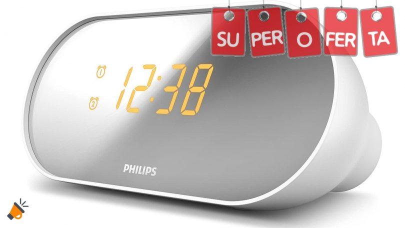 OFERTA Philips AJ200012 Radiodespertador barato SuperChollos