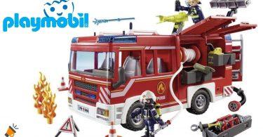 oferta PLAYMOBIL City Action Camio%CC%81n de Bomberos barato SuperChollos