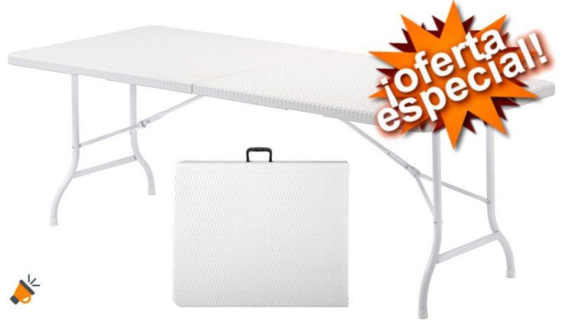 oferta Mesa plegable KitGarden barata SuperChollos