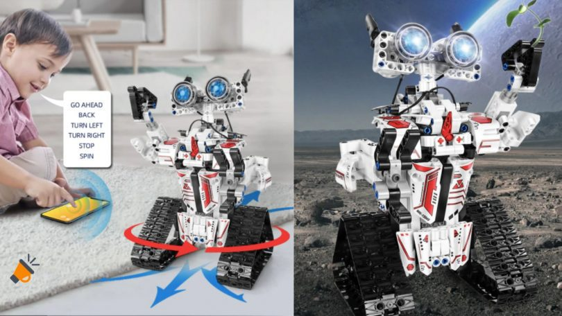 oferta Robot RC Inteligente Mould King barato SuperChollos