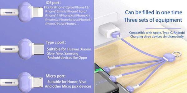 Llavero USB multifuncio%CC%81n barato SuperChollos