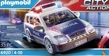 oferta Coche Polici%CC%81a Playmobil City Action barato SuperChollos
