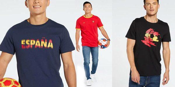 Camisetas Espan%CC%83a Eurocopa baratas SuperChollos