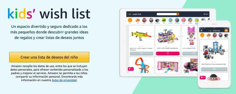Lista de deseos Amazon Kids1 SuperChollos