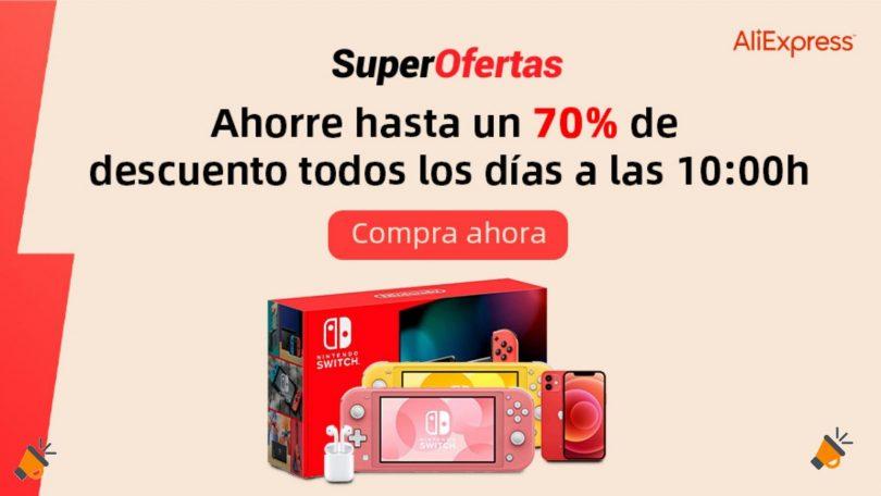 ofertas aliexpress sper deals SuperChollos