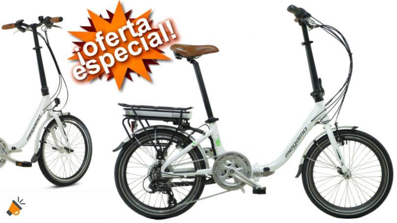 oferta bicicleta electrica megamo Chip 3 barata SuperChollos