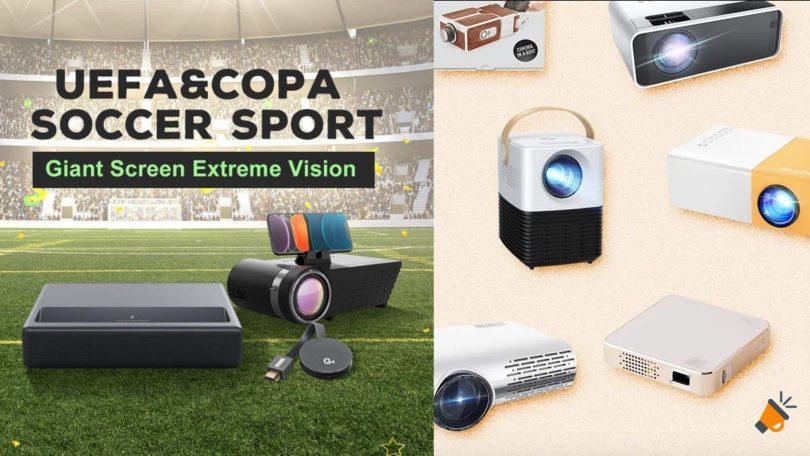 ofertas banggood proyectores baratos SuperChollos