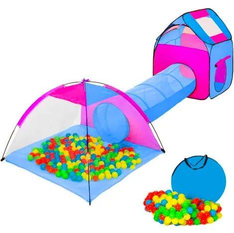 Parque bolas con tu%CC%81nel barato SuperChollos