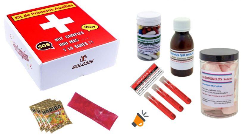 oferta golosin kit primeros auxilios barato SuperChollos
