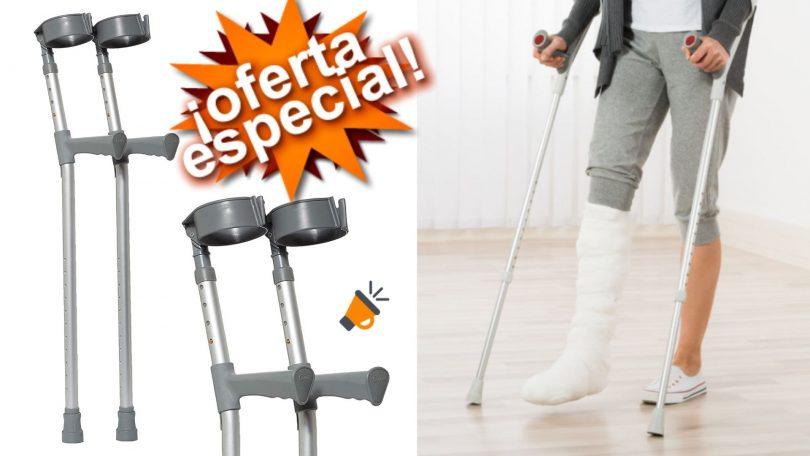 oferta NRS Healthcare muletas baratas SuperChollos